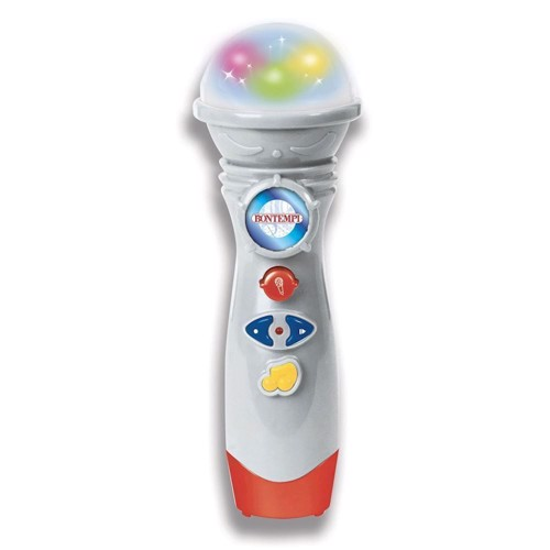 Image of Bontempi Karaoke Microphone with Recording function (0047663332970)