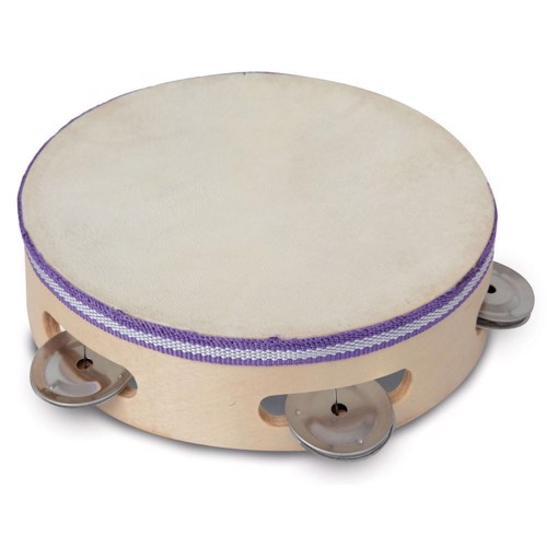 Image of   Bontempi Wooden Tambourine