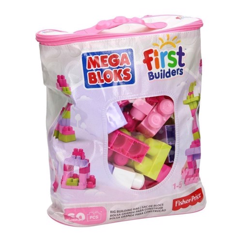 Image of Mega Bloks pink, 60pcs. (0065541084179)