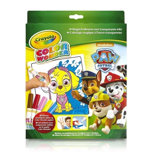 Image of   Crayola Color Wonder - Paw Patrol