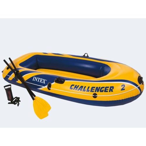 Image of   Badebåd 236cm, op til 170kg Challenger med padler og pumpe