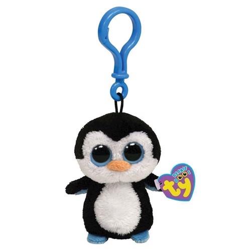 Image of   Ty Beanie Boo nøglering pingvinen Waddles