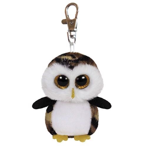 Image of   Ty Beanie Boo Keychain Owl-Owliver