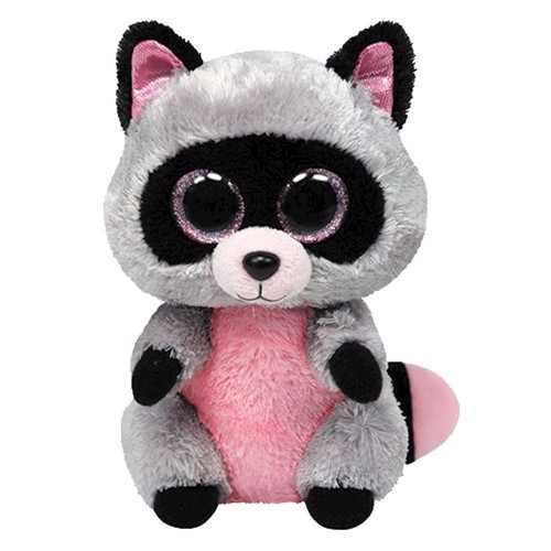Image of   Ty Beanie Boo Plush Raccoon-Rocco