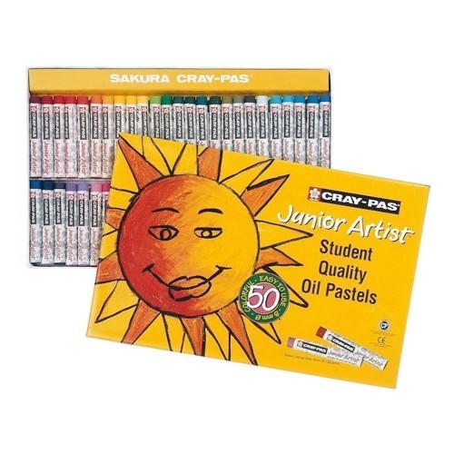 Image of   Junior Artist Set, 50pcs. Oil Pastels