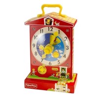 Fisher Price Classic-Leather Clock