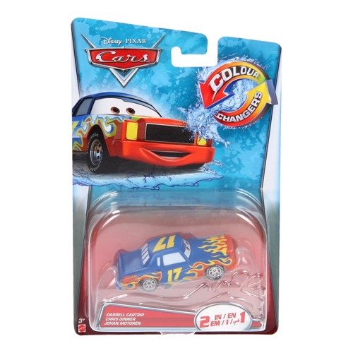 Image of   Disney Cars Color Changers Car-Darrell Cartrip