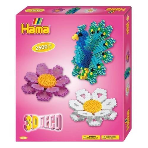 Image of   Hama 3D perlesæt med 2500 dele