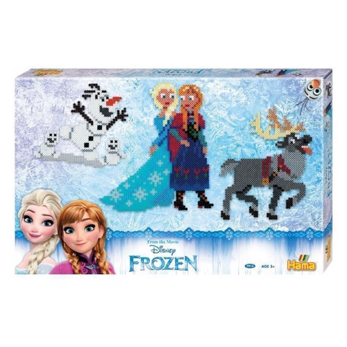 Image of Hama perlesæt med Disney Frozen, 6000 stk (028178079130)