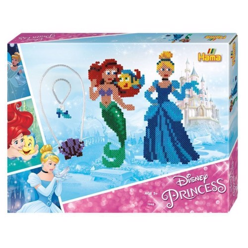 Image of Hama perlesæt med Disney prinsesser, 4000 perler (028178079482)