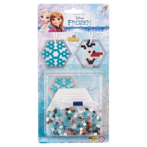 Image of Hama perlesæt med Disney Frozen, 400 perler (028178079956)