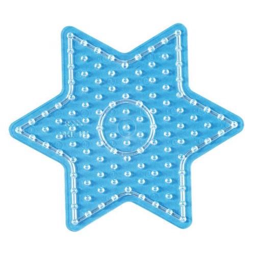 Image of Hama maxi perleplade med stjerne (028178082222)