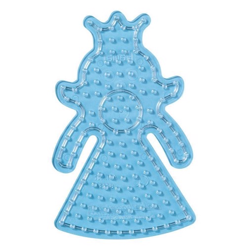Image of Hama maxi perleplade med prinsesse (028178082239)