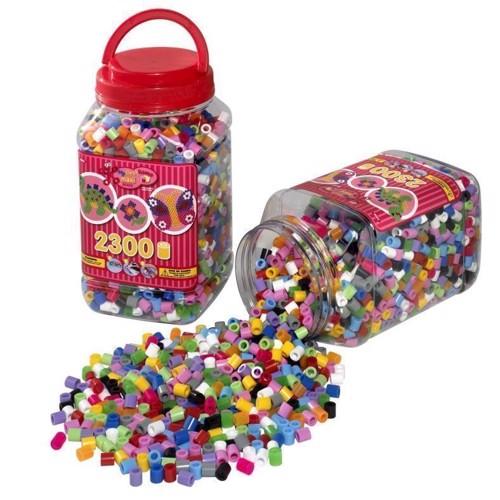 Image of Hama maxi perler, blandede farver, 2300 stk (028178085865)