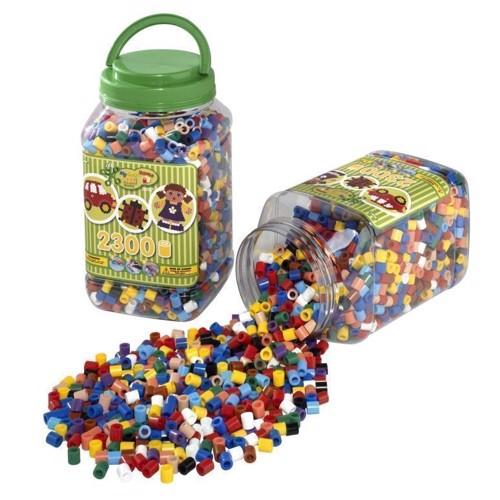 Image of Hama maxi perler, blandede farver, 2300 stk (028178085872)