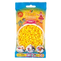 Hama Ironing beads-yellow (03), 1000pcs.