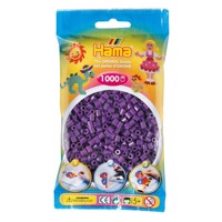Hama Ironing beads-purple (07), 1000pcs.