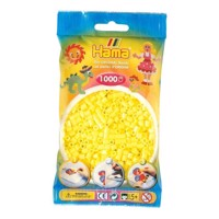 Hama Ironing beads-yellow Pastel (043), 1000pcs.