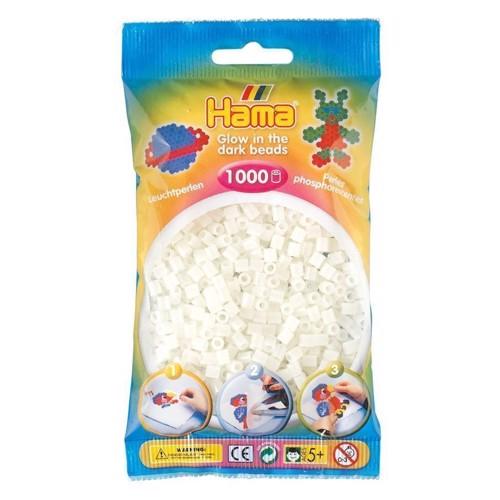 Image of   Hama perler selvlysende (055), 1000 perler