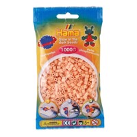 Hama Ironing beads-Red Glow in the Dark (056), 1000pcs.