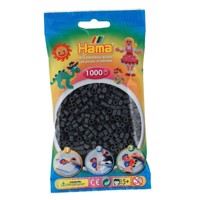 Hama Ironing beads-dark grey (071), 1000pcs.