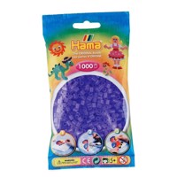 Hama Ironing beads-Lilac transparent (074), 1000pcs.