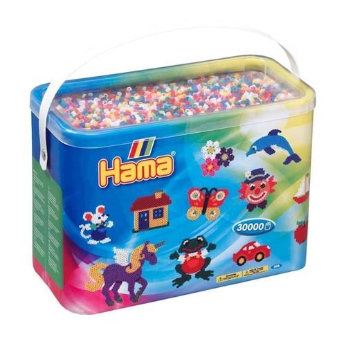 Image of   Hama perler, standart farver (00), 30.000 stk