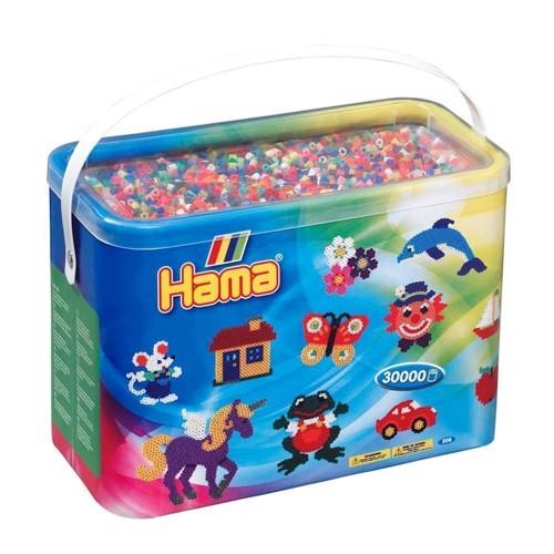 Image of   Hama perler blandede farver (068), 30.000 stk