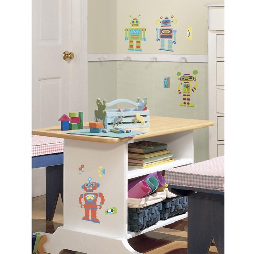 Image of   Create your own wall sticker Robot