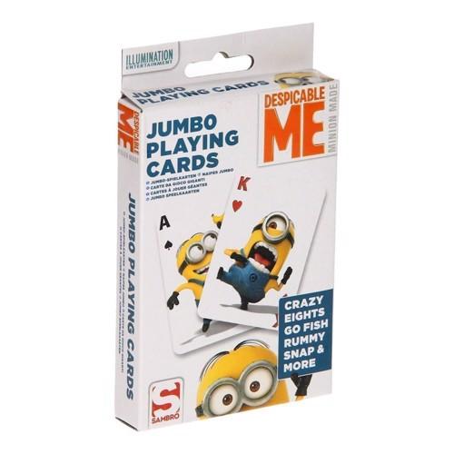 Image of Minions spillekort XL (047754165166)