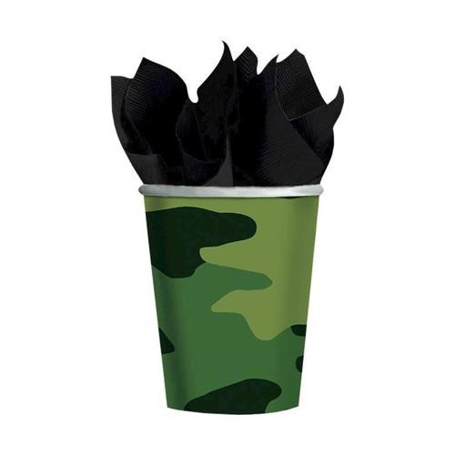 Image of Engangskrus 8 stk, militær