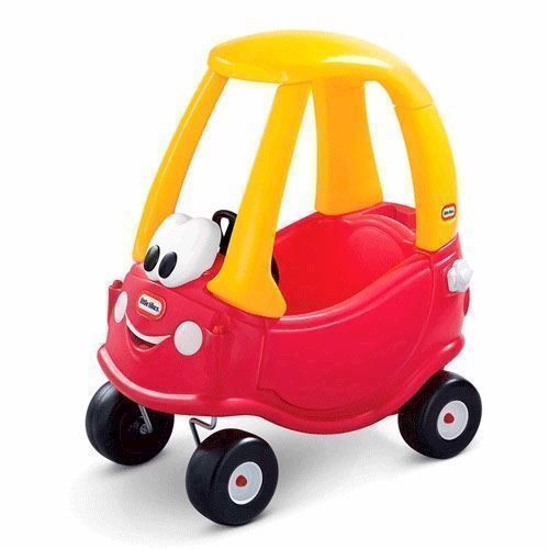 Image of Little Tikes Cozy Coupe bil med tag (050743612060)