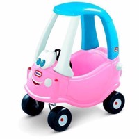 Little Tikes Cozy Coupe bil med tag pink