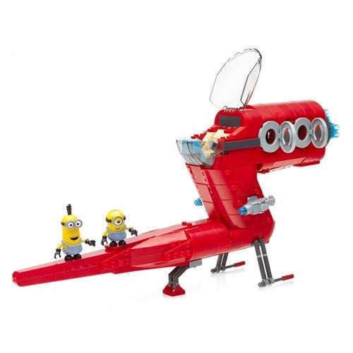 Image of Mega Bloks Minions Supervillain Jet (065541380295)
