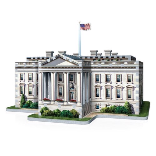 Image of   Wrebbit 3D Puzzle - White House, 490st.