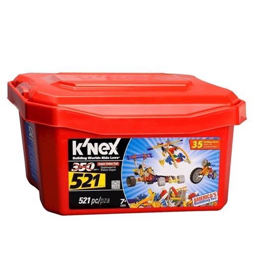 Image of Knex byggesæt, Value Box, 521 dele (0744476125750)