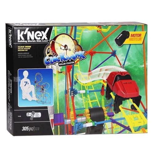 Image of Knex byggesæt, Clock Work Roller Coaster, 305 dele (0744476154064)