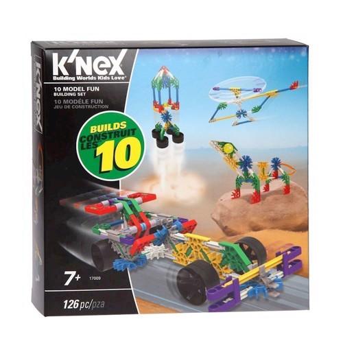 Image of Knex byggesæt 126 dele 10i1 (0744476170095)