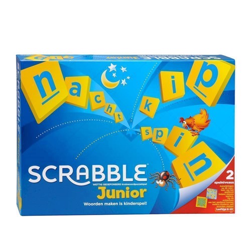 Image of Scrabble Junior (0746775261351)