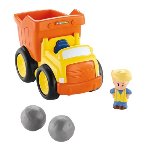Image of   Fisher Price Little People Dump Truck