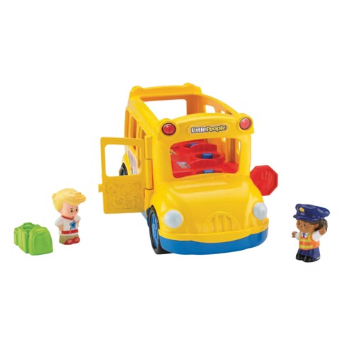 Image of   Fisher Price Little People Lil Movers School Bus