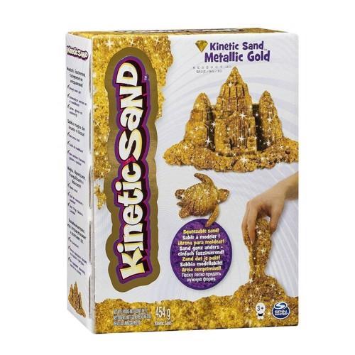 Image of Kinetic Sand magisk sand guldfarvet (0778988127896)