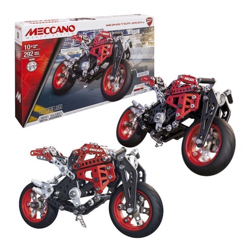 Image of Meccano byggesæt, Ducati engine, 292 dele (0778988206683)
