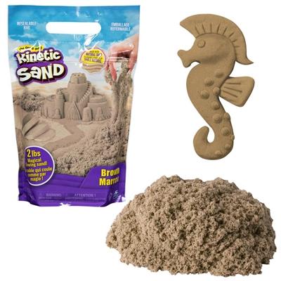 Image of Kinetic sand farvepakke 900g brun (0778988570197)