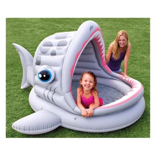 Image of   Baby svømmebassin, hval
