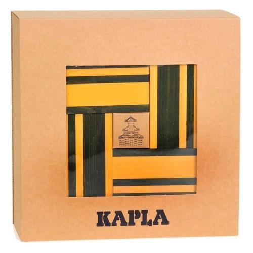 Image of   Kapla Klodser, 40 gule og grønne klodser