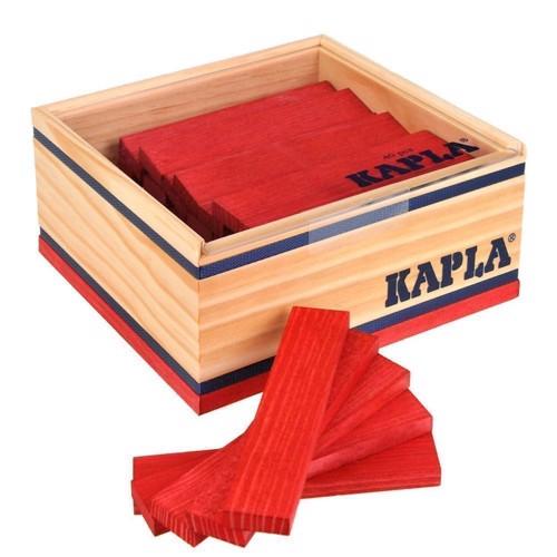 Image of   Kapla Klodser 40 røde brikker