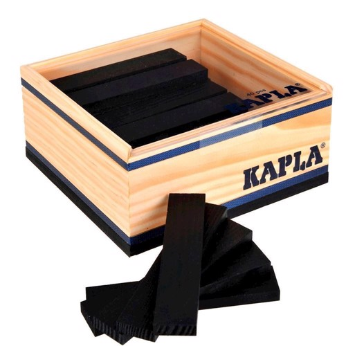 Image of   Kapla Klodser, 40 sorte klodser