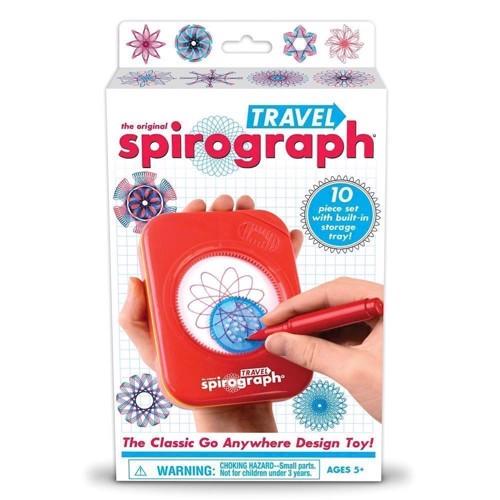 Image of Spirograph-Travel Set, Rejsesæt (0819441010208)