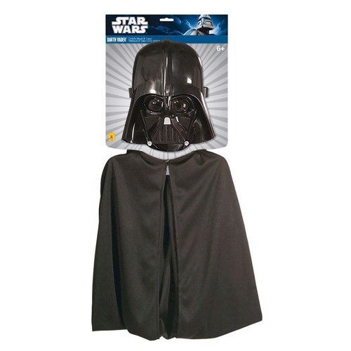 Image of   Darth Vader kappe og maske
